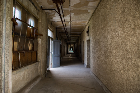 ellis island abandoned psychiatric hospital interior rooms view