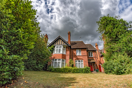 old english countryside house