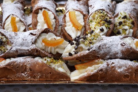 sicilia cannoli detail