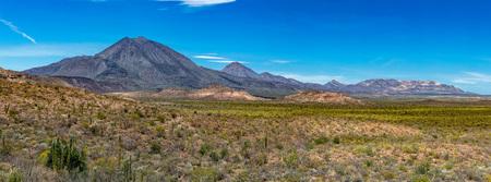 volcano Las Tres Virgenes Mexico Baja California Sur panorama Landscape