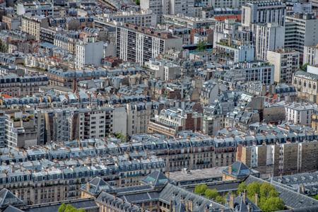 paris building city view aerial landscape from montparnasse tower