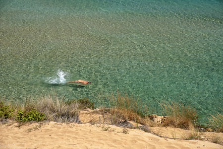 Marianelli Beach sicily nudist and gay friendly biew panorama