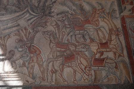 Villa del Tellaro Sicily free entry old roman mosaic decoration