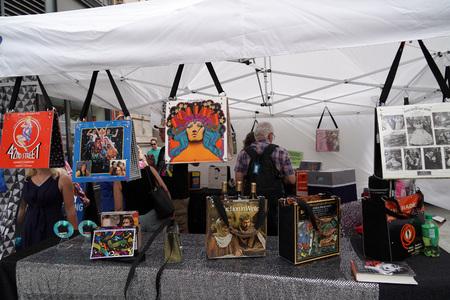 NEW YORK, USA - MAY 25 2018 - New york annual street art market, hold every year in manhattan