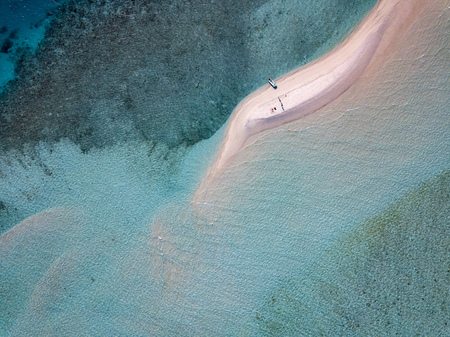 Maldives turquoise water aerial view panorama landscape