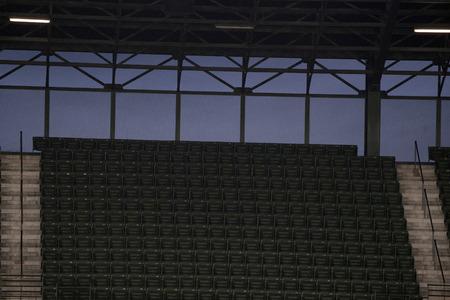 empty stadium baseball football soccer without no attendance