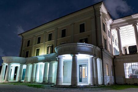 Villa Torlonia Benito Mussolini dux House in Rome