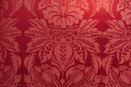 red velvet fabric texture detail
