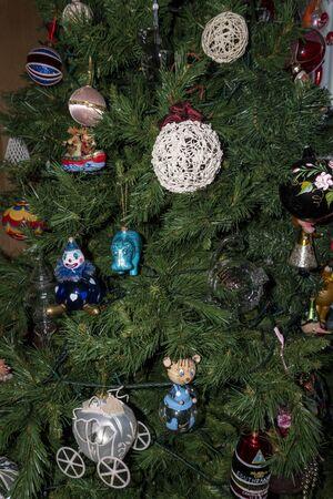 high quality hand painted glass ball christmas tree ornament Imagens