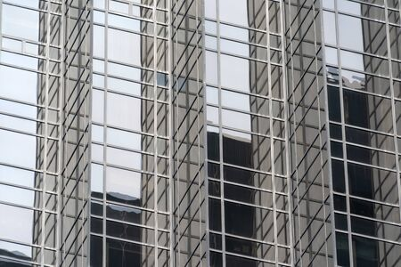 Trump Tower detail in New York City close up Imagens