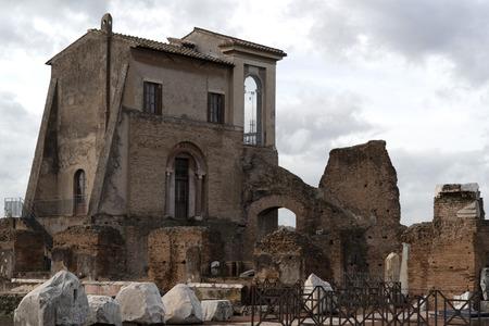 Domus Transitoria Nerone House in Rome