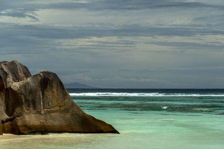 seychelles paradise beach panorama landscape