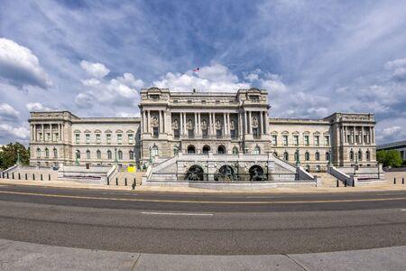 Library of Congress Washington DC exterior view