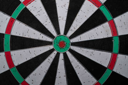 dart game target close up detail Standard-Bild