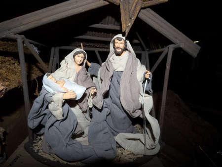 Christmas xmas ornaments and decorations Standard-Bild