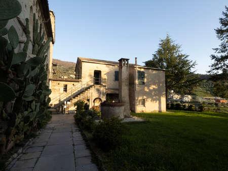 Fieschi church basilica in Lavagna Italy