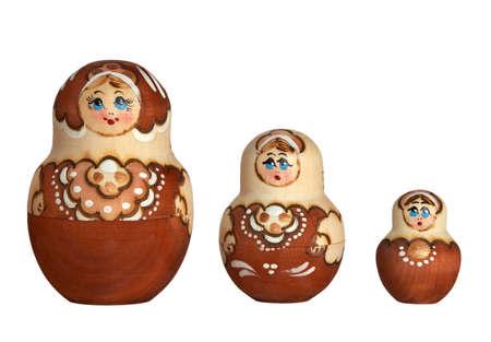 mu�ecas rusas: Mu�ecas rusas de la familia