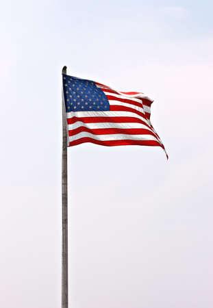 rectangulo: Bandera americana  Foto de archivo