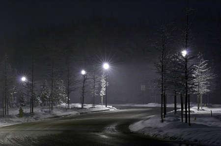 quietude: Night street