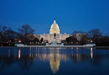 The Capitol at night Standard-Bild