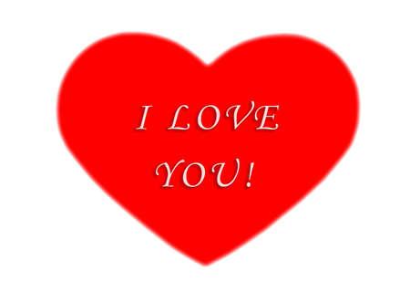 Ich liebe dich  Standard-Bild - 279116