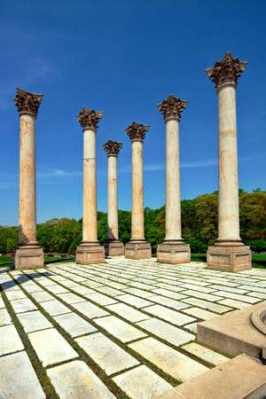 platon: Columns  US National Arboretum. Washington, DC