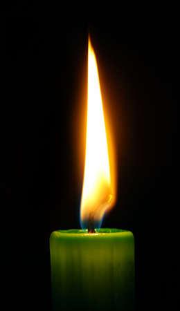 Candle Standard-Bild