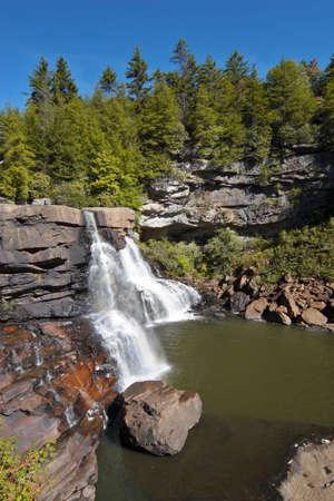 Blackwater Falls, West Virginia, USA photo