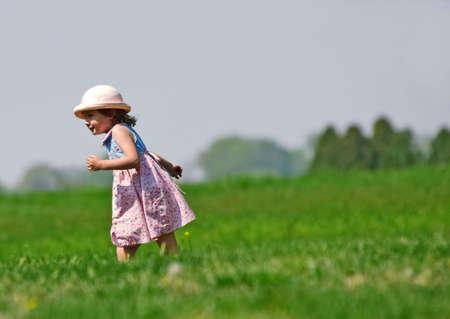 Running girl Stock Photo - 506488