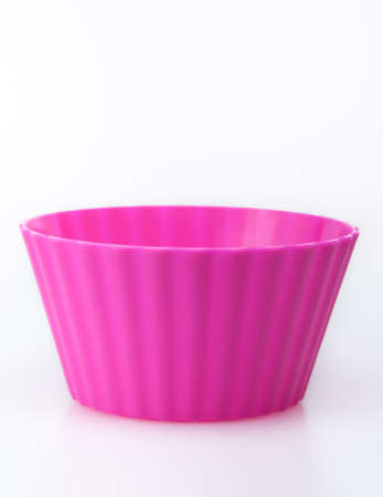 Colorfull muffin and cupcake molds photo