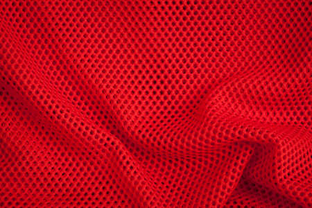 fishnets: Red fishnet texture and background close-up