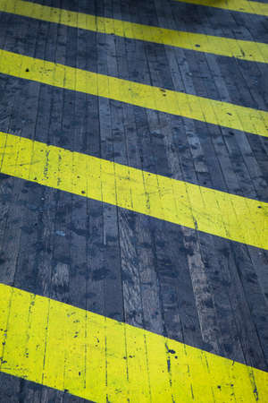 hazard stripes: Black and yellow hazard texture and background