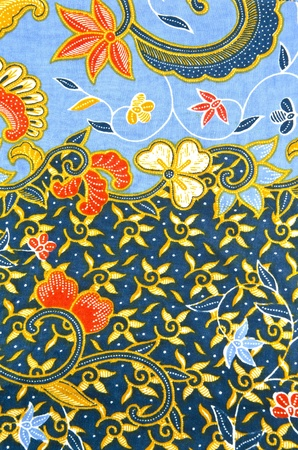 batik: Batik in sea design Stock Photo
