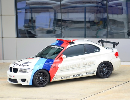 sic: A safety car for Sepang International Circuit (SIC) on MotoGP event in Sepang, Malaysia.
