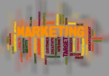 Marketing text info design and arrangement concept  photo