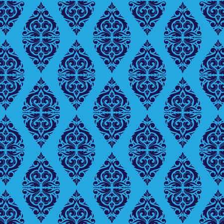 East Java seamless pattern background 4. Elegant luxury texture for wallpapers, backgrounds. Floral ornament.