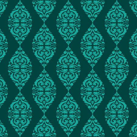 East Java seamless pattern background 8. Elegant luxury texture for wallpapers, backgrounds. Floral ornament.