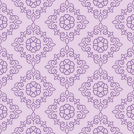 East Java seamless pattern background 15. Elegant luxury texture for wallpapers, backgrounds. Floral ornament.