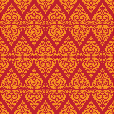 East Java seamless pattern background 3. Elegant luxury texture for wallpapers, backgrounds. Floral ornament.