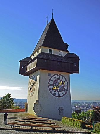 Clock tower, Graz, Austria