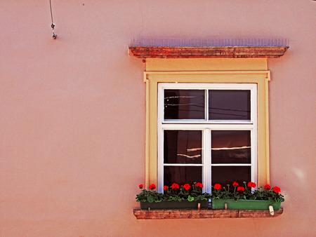 Beautiful window of Sporgasse 22, Graz, Austria