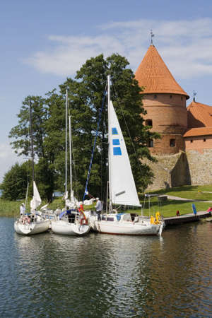 lithuania: Trakai, Lithuania Stock Photo