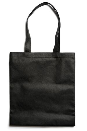 Reusable Eco Bag On White Background. Zero waste concept. Imagens