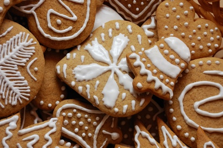 Gingerbreads for Christmas photo
