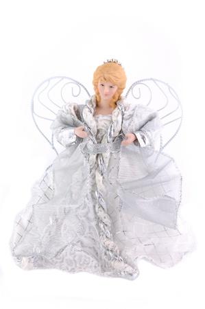 dolly: Dolly di Natale su sfondo bianco