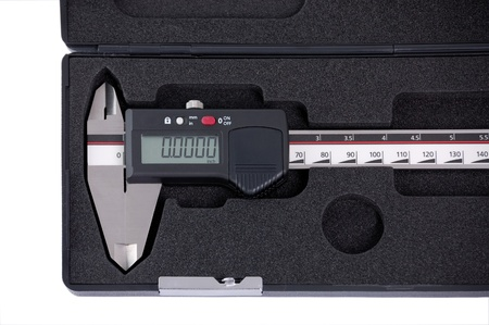 sliding caliper: Digital sliding measure in box