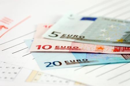 european union currency: La moneda de la Uni?uropea Foto de archivo