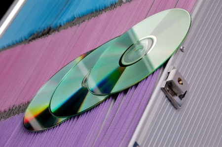 bluray: CD, DVD and Bluray media storage system