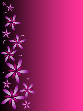Vector illustration of pink abstract background Stock Illustration - 12763945