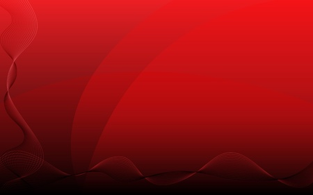 abstract waves: Abstract red background Stock Photo